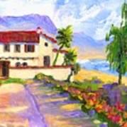 Adamson Home Malibu Art Print