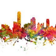 Adelaide Australia Cityscape 08 Art Print