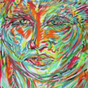 Adelita 5 Art Print