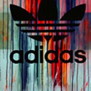 Adidas Plakative - Typografie Art Print