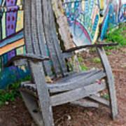 Adirondack Chair ? Art Print