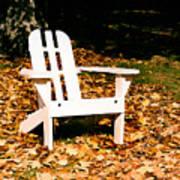 Adirondack Chair Art Print