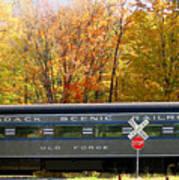 Adirondack Scenic Railroad Art Print