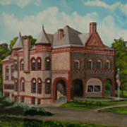 Administration Building Art Print