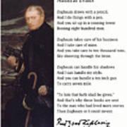 Admiral Evans Art Print