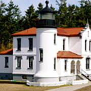 Admirality Head Lighthouse Art Print