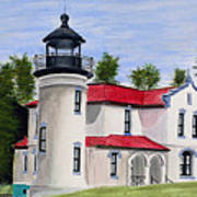 Admiralty Head Lighthouse Art Print