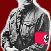 Adolf Hitler Crossed Hands Circa 1934-2015 Art Print