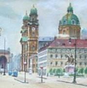 Adolf Hitler Painting Ordensplatzcu Art Print