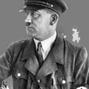 Adolf Hitler Portrait Heinrich Hoffmann Photo Circa 1935-2016 Art Print