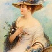 Adolphe Philippe Millot Art Print
