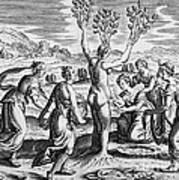 Adonis Being Born From Myrrha Art Print
