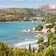 Adriatic Coast In Croatia Art Print