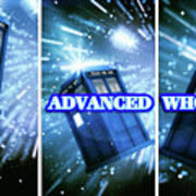 Advanced Whovians Alt Art Print