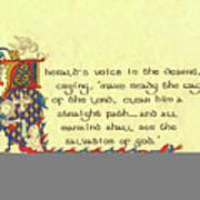 Advent Herald Of Christ Art Print