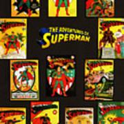 Adventures Of Superman Art Print
