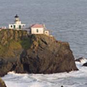 Aerial View Of The Point Bonita Lighthouse California Art Print
