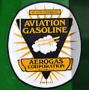 Aerogas Green Pump Art Print