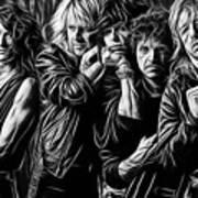Aerosmith Collection Art Print