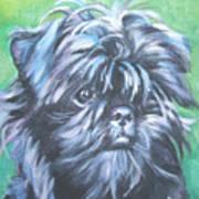 Affenpinscher Portrait Art Print
