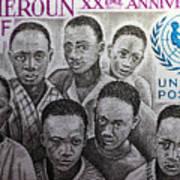 Africa Unicef Art Print