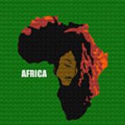 Africa Woman Art Print