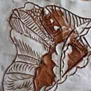 African Angel - Tile Art Print