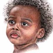 African Child Art Print