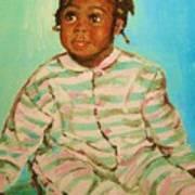 African Cutie Art Print