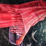 African Damsel Art Print