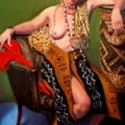 African Drum 4 Art Print