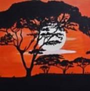 African Heat Art Print