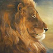 African King Art Print