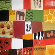 African Matrix Art Print