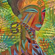 African Queens Art Print by Jennifer Baird