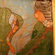 African Respect - Tile Art Print