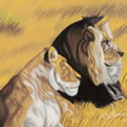African Royalty Art Print