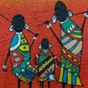 African Safari Art Print