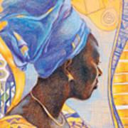 African Secession Art Print