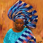African Woman 5 Art Print