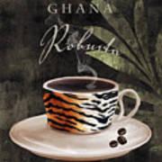 Afrikan Coffees II Art Print