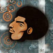 Afrocentriverse Art Print