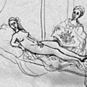 After Manet Art Print