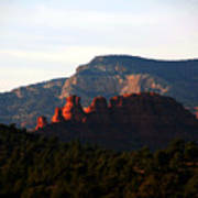 After Sunset In Sedona Art Print