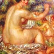 After The Bath 1912 Art Print