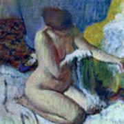 After The Bath Art Print