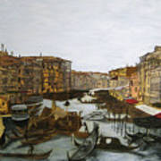 After The Grand Canal Art Print