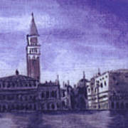After The Pier At San Marco Art Print