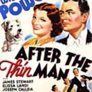 After The Thin Man 1935 Art Print