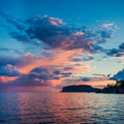Afterglow On The Lakeshore Art Print